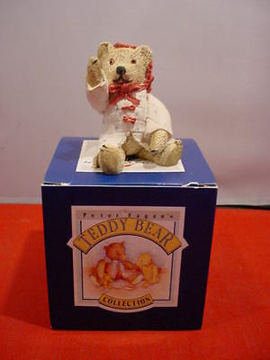Peter Fagan Colour Box Teddy Bear Elly May TC632 Resin Boxed Collectible