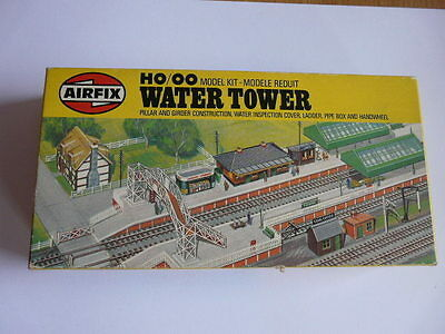 Boxed Airfix Oo Gauge Model Kit Water Tower From A Modellers Workshop