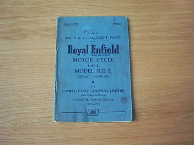 Royal Enfield Spares & Replacement Parts list
