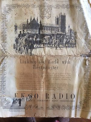 Daily Herald 12 May 1937 Coronation King George VI 12 Pages Newspaper