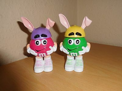 2 x M&M's Sweet Holder With Bunny Ears