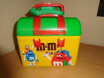 M&M`s Retro Choco Lunch Box With Thermos flask - Rare Collector's Item Lunchbox
