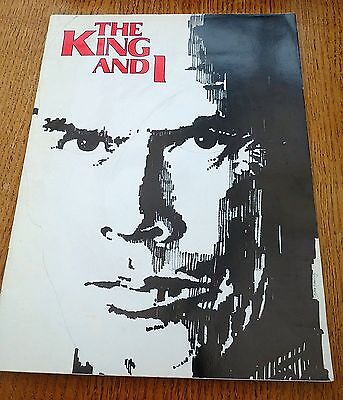 The King And 1 - Souvenir Brochure 1979 Featuring Yul Bryner & Virginia Mckenna