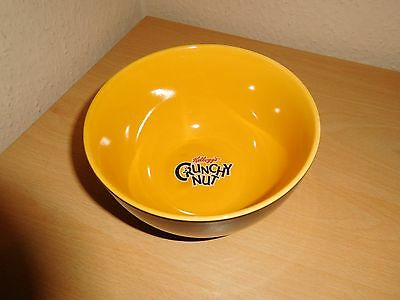 Kelloggs Crunchy Nut Cereal Bowl - Yellow / Black Bumble Bee Style
