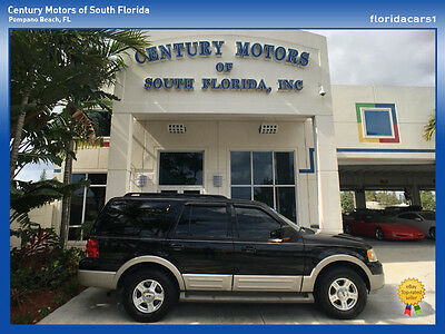 2005 Ford Expedition  FLORIDA SUV LEATHER LOADED NON SMOKER RUST FREE LOW MILES 5.4L V8