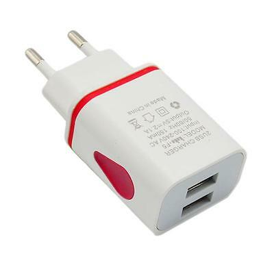 USB Power Adapter EU Plug Wall Travel Charger for iPhone for Samsung for HTC UK