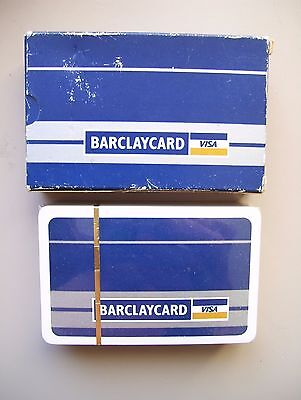 Barclaycard Deck Of Sealed Playing Cards.(Sealed & Mint)
