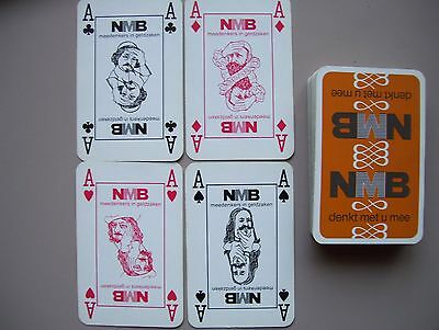 """nvb"" Deck Of Playing Cards.(Unused=Mint)"