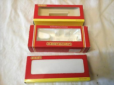 Oo Gauge 3 Hornby Empty Boxes Only Used        (D1)