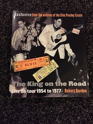Elvis Presley The King On The Road Book