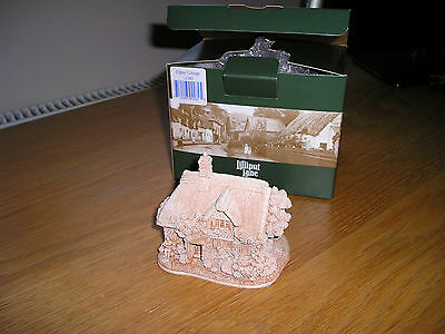 """Lilliput Lane """"gypsy Cottage"""" Boxed Paint Your Own. Excellent Condition."""
