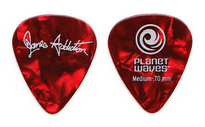 Jane's Addiction Red Pearl Guitar Pick 2012