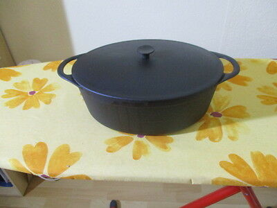 Cousances Le Creuset Gusseisen Bräter Made in France oval Nr. 12 TOP !!!