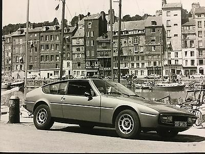 Rare Lot Photo de Presse 1975 MATRA BAGHEERA !!!