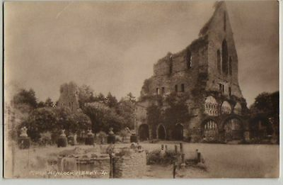 RPPC,MUCH WENLOCK ABBEY,BY W.A.CALL,c1930s