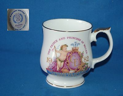 Elizabethan china for Ringtons Celebrate the birth of William 1982