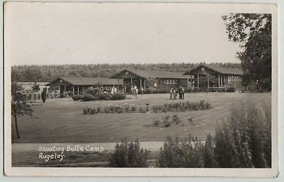 Rppc,shooting Butts Camp,rugeley, 1953