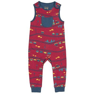 Baby Boys Jersey Dungaree By Kite