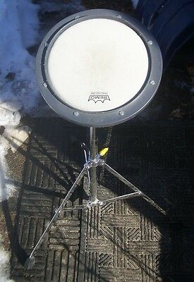 Remo Adjustable Drum Practice Pad AND Adjustable Stand