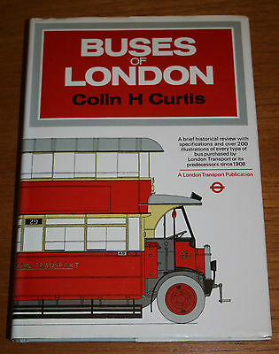 London Transport publication Buses of London by Colin H Curtis
