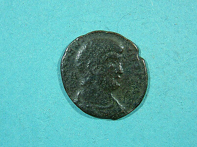 Large sized Roman coin, unresearched, with some detail.