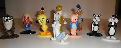 LOONEY TUNES 1987 and 1988 Warner Brothers Lot of 10 PVC Figures from Arby's