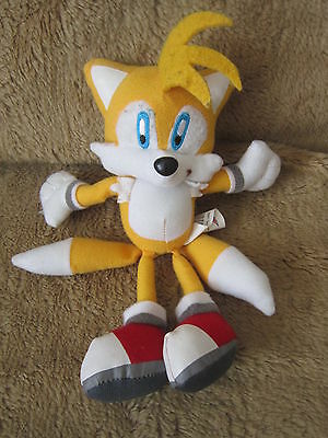 "Sonic The Hedgehog Soft Toy Tails Approx 8"" Tall"