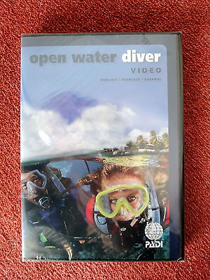 PADI - Open Water Course  DVDs    BRAND NEW 2016 Edition