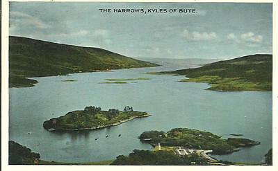 The Narrows, Kyles Of Bute, Bute, Argyll (Colour Printed)