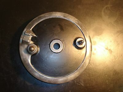 BSA C15 Front Brake Plate and Shoes