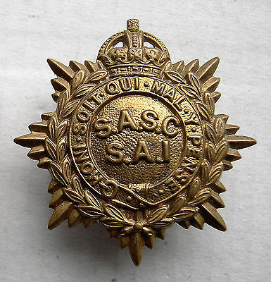 South Africa Service Corps  Cap Badge