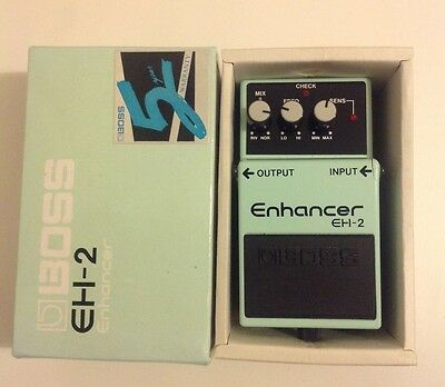 Boss EH-2 Enhancer effects pedal with box