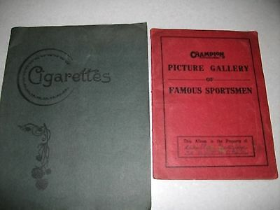 Two Old Cigarette ? Card Albums