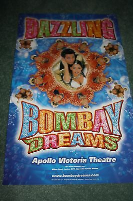 Bombay Dreams West End theatre poster musical