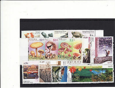 Hong Kong - 2003/4/5 3 Unmounted Mint Sets From The Above Period