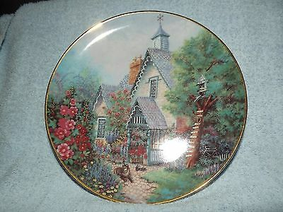 """Lilliput Lane Limited Edition Collectors Plate """"The Gables"""""""