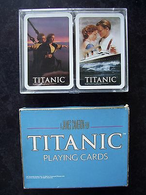Titanic Film Double Deck Of Cased Playing Cards.(Unused=Mint)