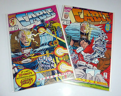 Cable 1, 2 (Complete Mini Series. 1 X-Force. Deadpool)