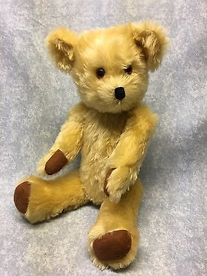 Terry & Doris Michaud Teddy Bear  mohair Tide Rider in box  #49 signed on foot