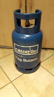 Calor Gas Butane blue 7KG bottle minimum 65% full