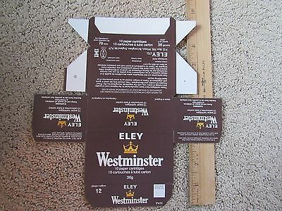Eley Westminster 12 Ga Box Of Ten Mint Never Used Condition