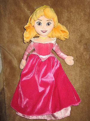 """Sleeping Beauty Soft Toy From The Disney Store Approx 18"""" Tall"""