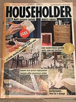 Practical Householder Magazine : Sept 1978