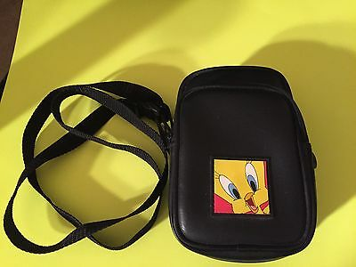 Vintage Looney Tunes Tweety Bird - Camera Case - Small Handbag - Purse - NOS