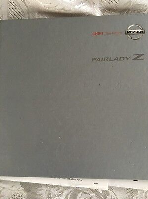 Nissan Fairlady Z - Shift the Future - Hardback Japanese Sales Brochure RARE