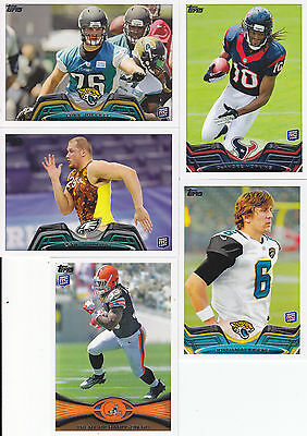 2012 & 2013 Topps RC Lot T.Richardson, L.Johnson, L.Joeckel, D.Hopkins,J.Rodgers