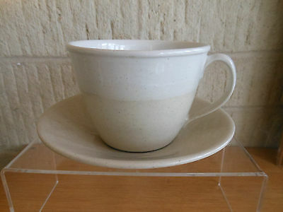 Rye Pottery Cup And Saucer