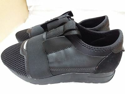 Men's Black Trainers/Running Shoes, Size EU 39/UK 6 - Brand New (Please Read)
