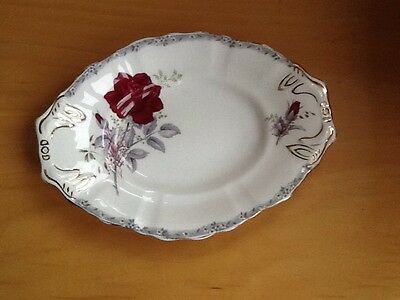 Royal Stafford Roses to Remember Serving Plate Vintage Wedding Tea Party