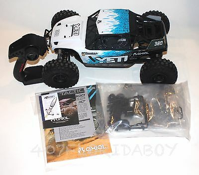 Axial Racing 1/10 Yeti Rock Racer 4WD Brushless RTR New Open Box AX90026